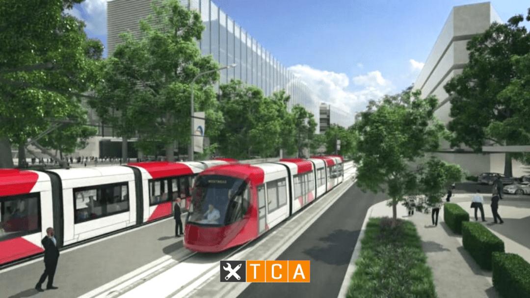 Parramatta Light Rail completed project